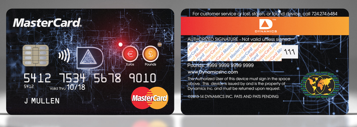MasterCard Multiple Currencies