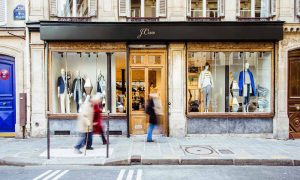 J. Crew reported a seven percent loss in same-store sales last quarter as compared to eight percent noted last year.