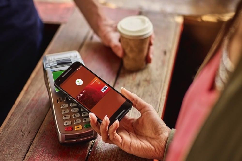 android pay growth in banking