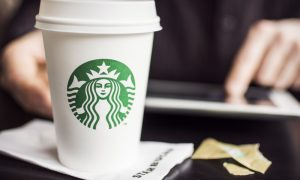 Starbucks has partnered with Microsoft to add a new functionality to the Outlook app that allows users to setup meetings at nearby Starbucks stores.
