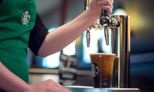 Starbucks is planning to give its cold brew coffee a slightly sour and effervescent upgrade by pumping it out of beer taps.