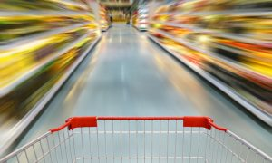 Pushing heavy carts across Walmart stores might soon be a thing of past.