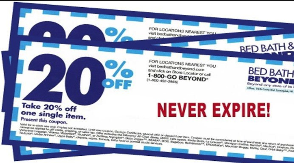 November Bed Bath & Beyond Coupons, Promos & Sales. Bed Bath & Beyond coupon codes and sales, just follow this link to the website to browse their current offerings. And while you're there, sign up for emails to get alerts about discounts and more, right in your inbox. Hey smart shopper.5/5(5).