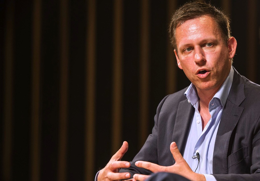 Peter Thiel considered leaving Facebook's board