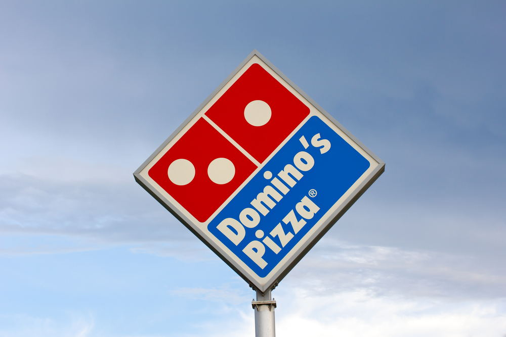 Domino's Delivers To Non-Traditional Locations | PYMNTS.com on dominos printable menu, dominos fundraiser form, dominos hours, dominos pizza menu,