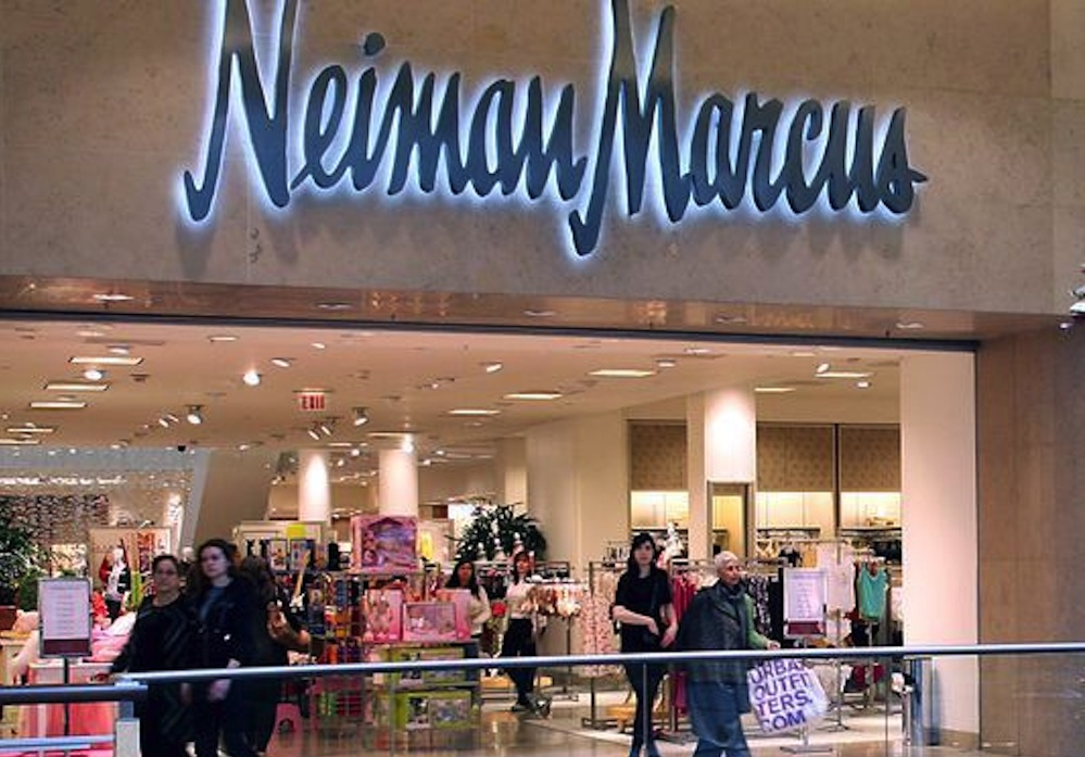 Neiman Marcus is a high end department store that carries designer items for the entire family. They have apparel, shoes, handbags, beauty items and accessories.