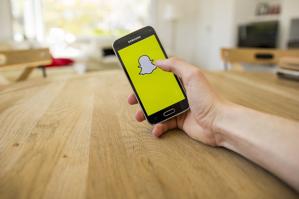 Snap stock soars on first ever better-than-expected earnings