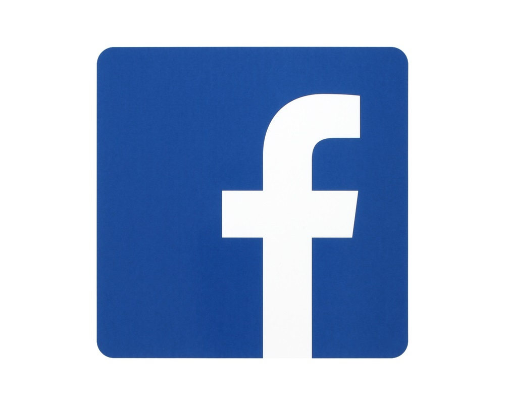 like us on facebook logo for print real clipart and vector graphics