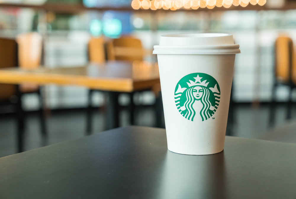 Starbucks Premiers First AR Experience