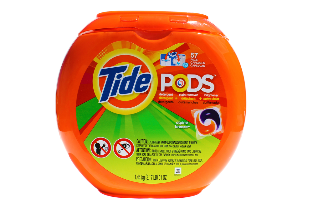 Utah State University student hospitalized after eating Tide Pod