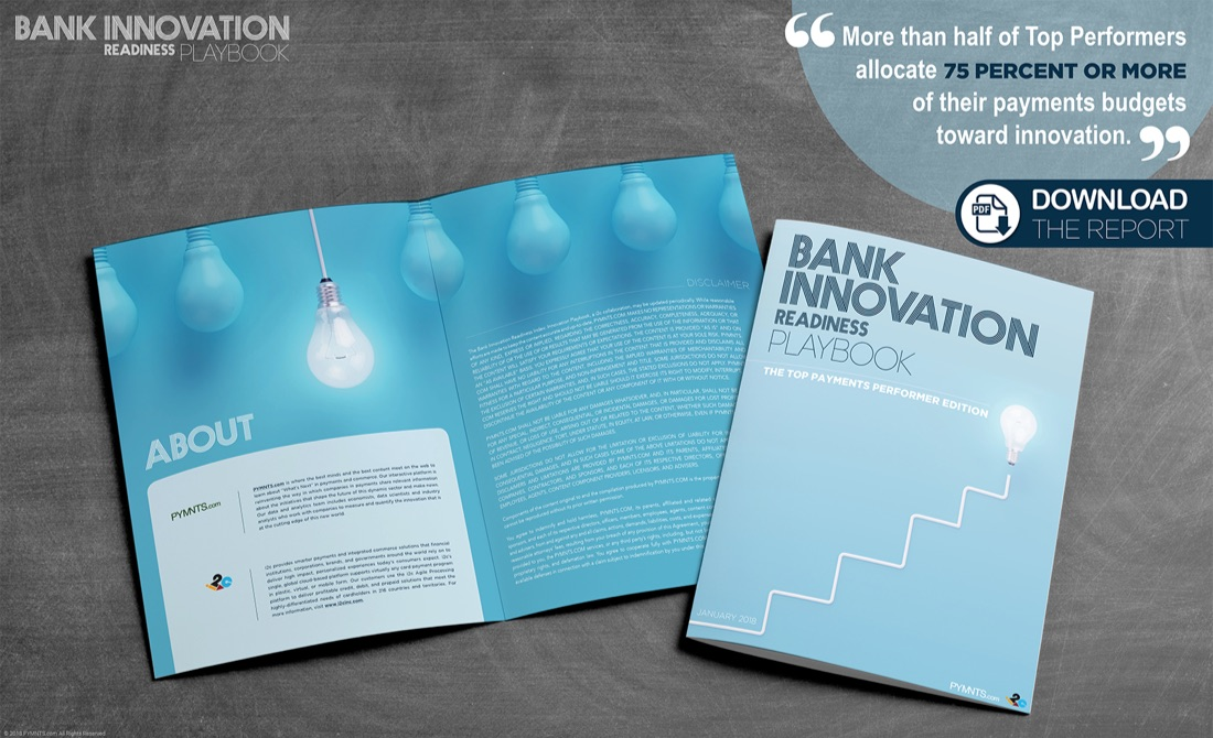 - innovation playbook new promo - Today In Data: FinTech Funding, Banking Woes