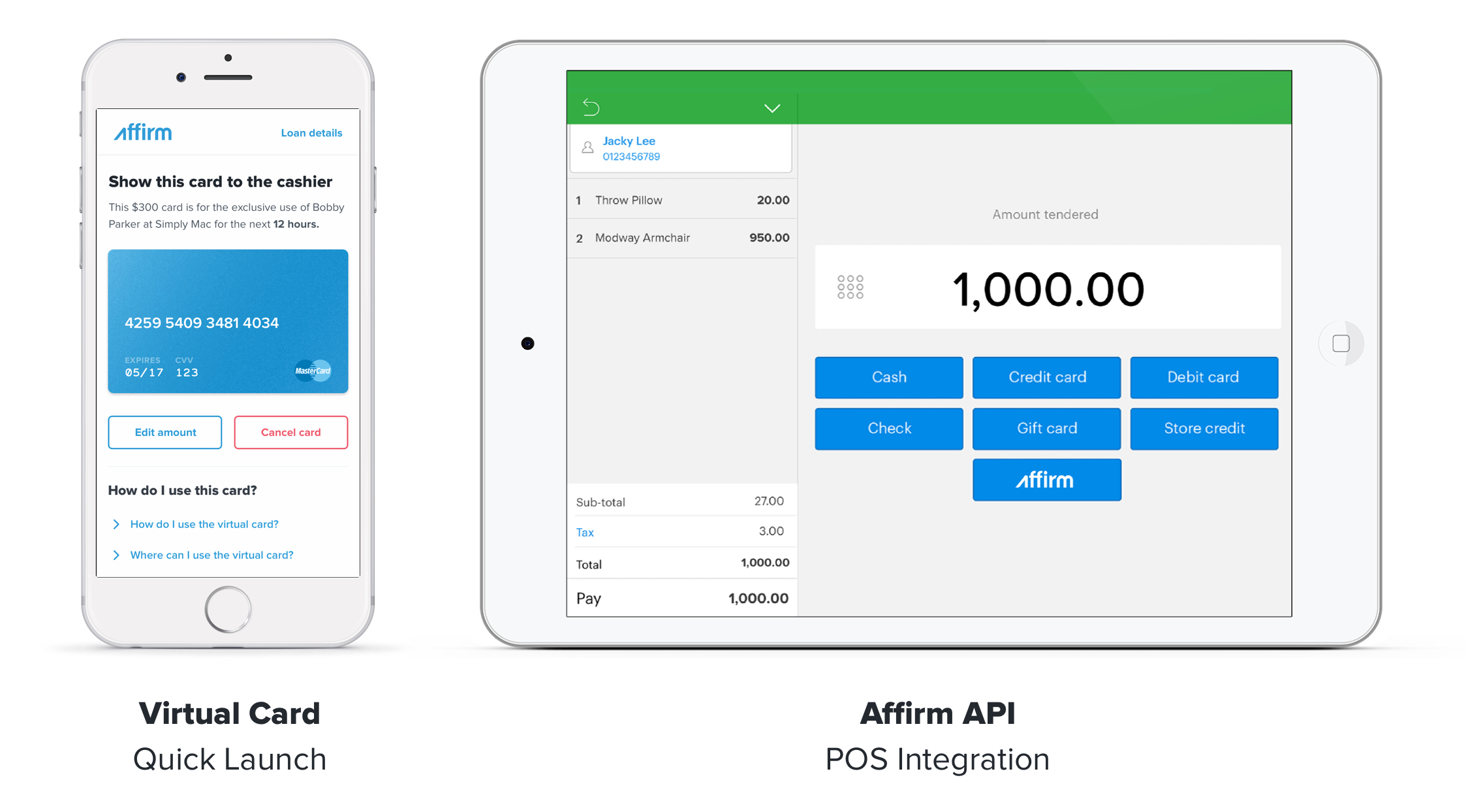 Affirm Expands POS Credit In-Store ...