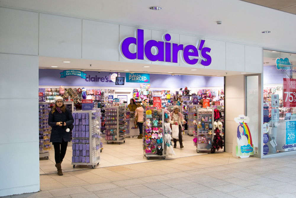 Claire's To Shutter Another 130 Stores | PYMNTS.com