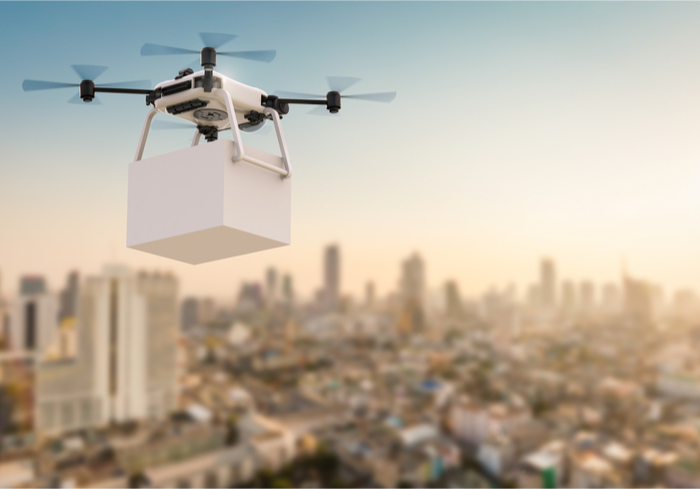 Uber Gearing up for Drone Delivery?