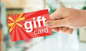 First Data: Consumers Overspending Gift Cards