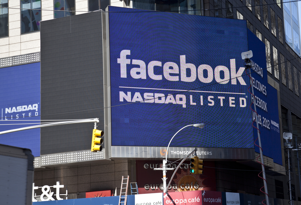 Facebook Shares Fall 7.3 Pct Post-DC Lawsuit