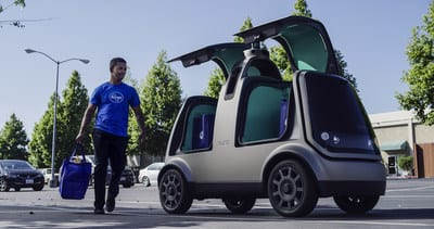 Kroger Brings Self-Driving Delivery To Houston