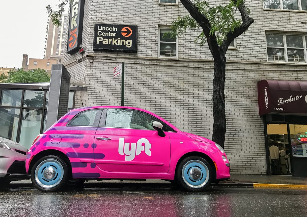 ab0e90598ef Lyft Shares Jump 20 Pct With IPO Debut