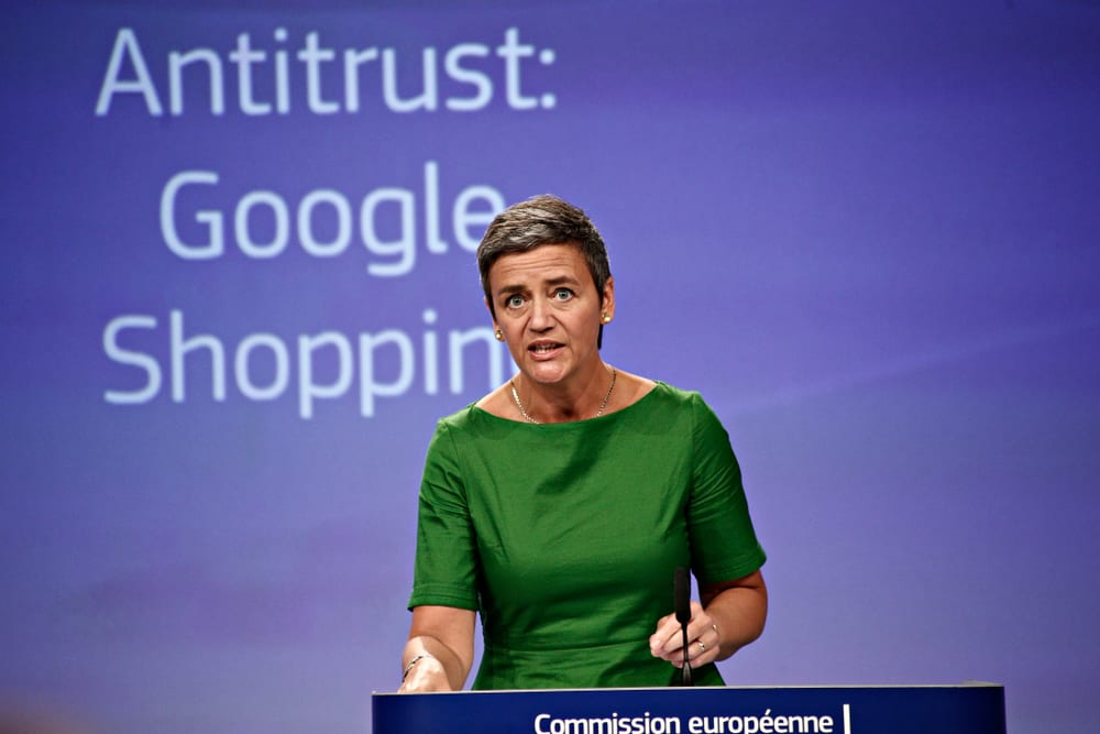 EU Antitrust Chief Against Dismantling Tech Cos