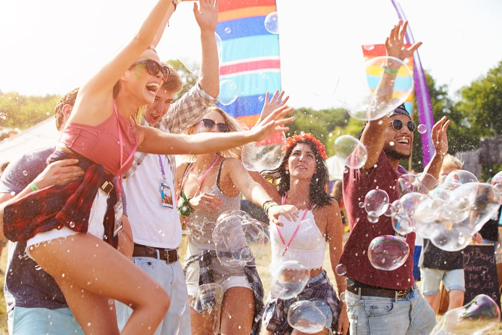Retail Puts On Its Own Show At Music Festivals