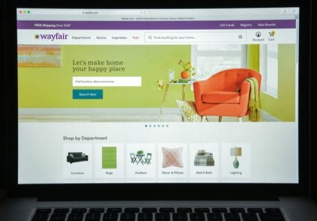 Wayfair To Open First Brick And Mortar Store Pymnts Com