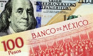 U.S. and Mexico currency