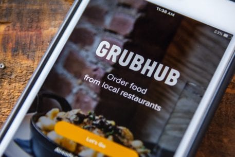 Grubhub Shares Dip On Uber Eats Competition