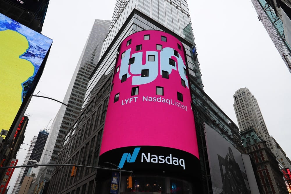 Lyft Shares Fall Below IPO Price