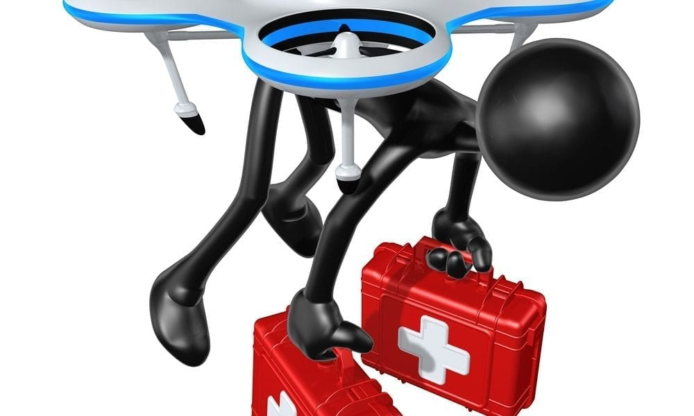drone medical supplies
