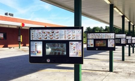 drive-in ordering fast food