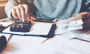 business expense calculating