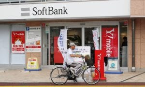 SoftBank Shares Slide With Ride-hailing Stocks