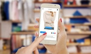 smartphone in-store shopping