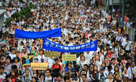 Hong Kong Protests Draw Cyberattack From China On Telegram App