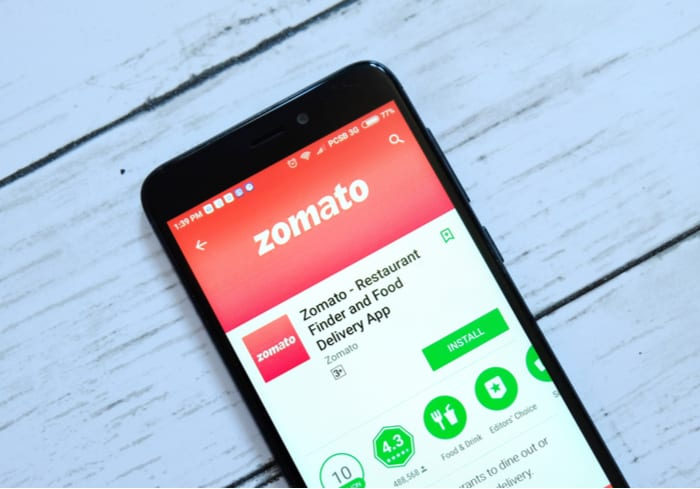Zomato Tests Drone Food Delivery