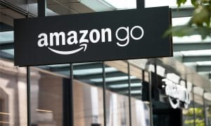 Amazon Go store sign