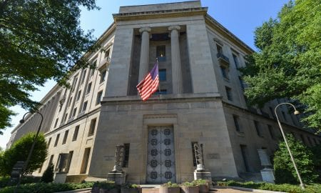 U.S. Department of Justice building