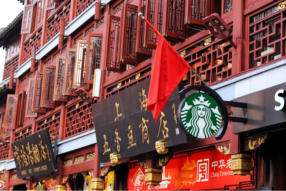 Starbucks China Delivery Booming, Shares Surge