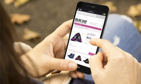 smartphone shopping app