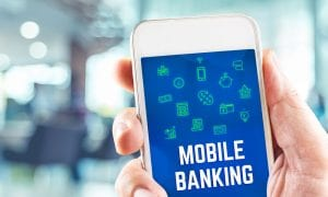 mobile banking smartphone