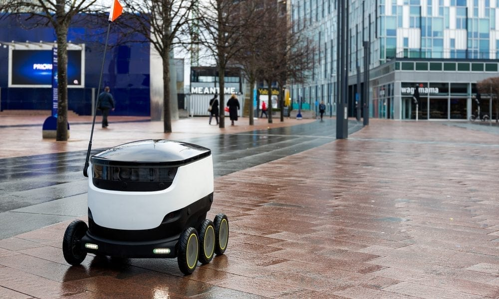 The Automated Delivery Robot Race