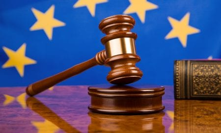 European Union court gavel