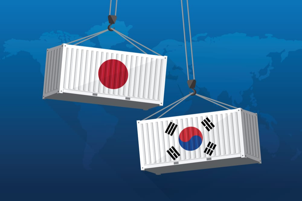 Trade Groups Warn Of Japan, South Korea Dispute