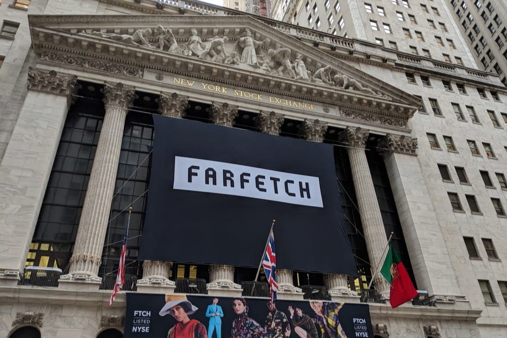 Farfetch Shares Drop 50 Percent From IPO Offering