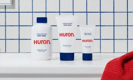 Huron men's personal care products
