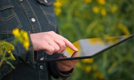 digital tech on farm