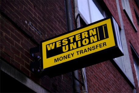 Western union forex bank