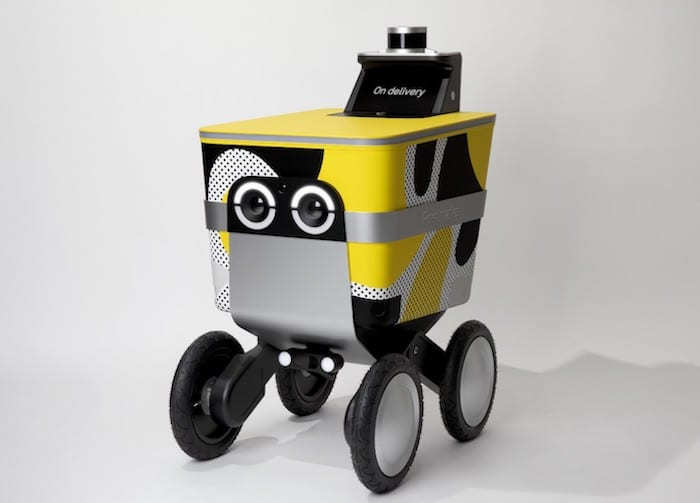 Serve robot Postmates delivery san francisco