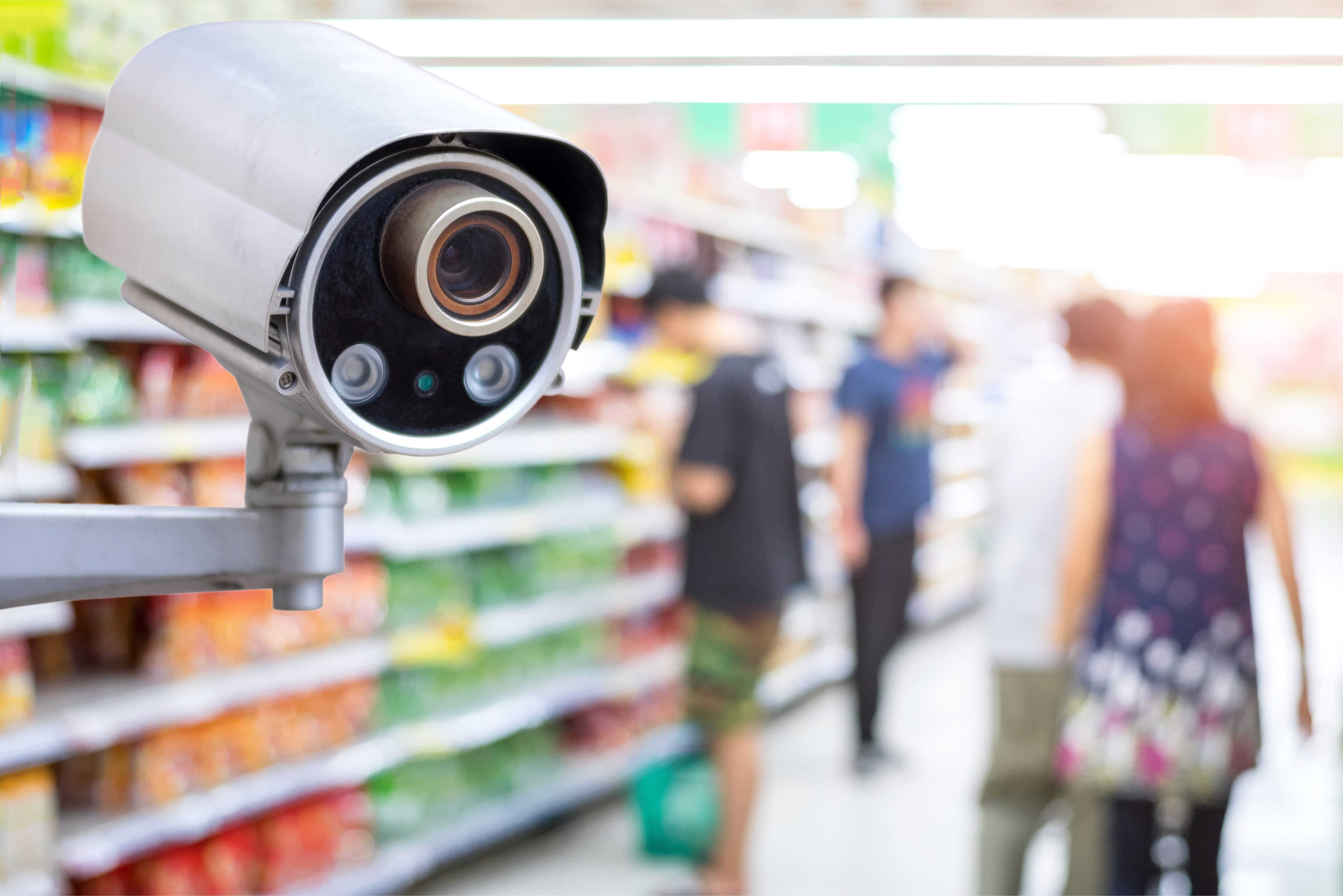 security camera retail store