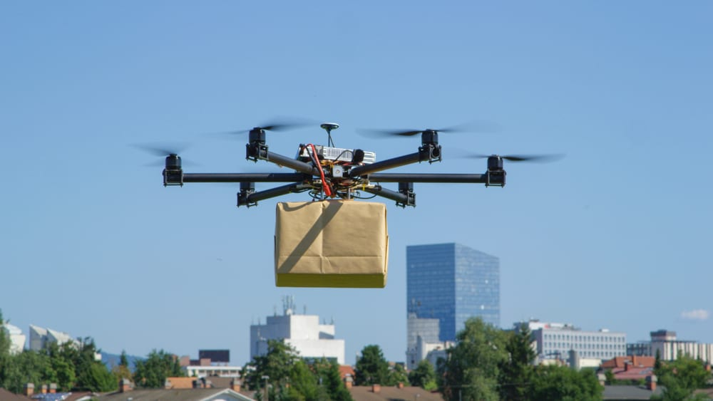 Can 5G Power Retail Drone Deliveries?